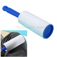 Wholesale 1 X Lint Pet Hair Dust Dandruff Clothes Cleaning Roller Sticky Paper Sheets