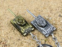 antique toy world - NEW Hot fashion Cartoon movie key chain toys high quality World of Tanks Mini Tanks Alloy keychain Toys best gifts cc152