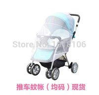 Wholesale 2015 New Arrive Baby Stroller Cover All Nets Baby Trolley car Umbrella Stroller Mosquito Net