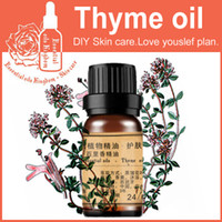Wholesale 100 pure plant essential oils Thyme oil ml Spanish imports Antibacterial Help digestion