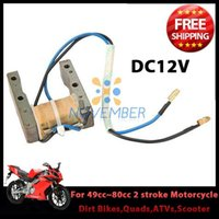 Wholesale High Performance DC12V Metal Magneto Stator Coil for cc cc Stroke Engine Motorcycle Bicycle Quads ATV order lt no track