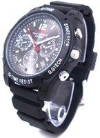 Reloj de la cámara DVR 32GB del espía del reloj de la visión nocturna del IR 1080P IR Reloj ocultado mini DVR 32GB de la cámara del dvr de 1920 * 1080 30fps AV