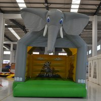 best bouncers - AOQI Best Design Moonwalk Jumper Bouncer Elephant Shape Inflatable Bouncer Inflatable Jumping Bouncer House For Sale