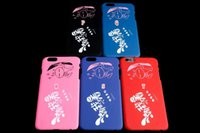 apple hood - Fashion Hard Matte Feel PC Case Flower Cartoon Never Mr Wrong Crown LOOK HBA Hood BY AIR NYC For Iphone S plus G S skin cover