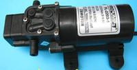 großhandel water pressure pump-RV-Marine DC 12V Bedarf Frischmembranwasserdruck Selbstentlüftungspumpe 2.9L / Min 35 - Max 70psi Caravan / Boot / RV Freies Verschiffen, Dandys