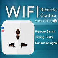 sockets and switches - Timing Tasks Switch Wireless WIFI Smart Socket plug Power Switch Home Automation Switch for Android Apple iPhone iPad and iPod touch