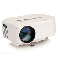 Wholesale Newest UC30 Mini Pico portable proyector Projector AV VGA A V USB SD with VGA HDMI Projector projetor beamer