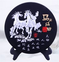 activate unique - Chinese Landscape Unique Calligraphy Christmas Gifts Craft Activated Carbon Carving Handicraft Home Decoration Business Activity Carbon