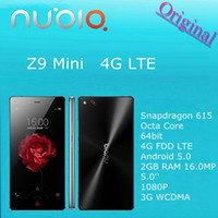 Wholesale IN Stock ZTE Nubia Z9 mini G LTE Mobile Phone FHD Android Dual Sim Qualcomm Octa Core GB RAM MP Multi language