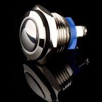 Push Button Switches bell push button - New high quality mm Anti Vandal Momentary Stainless Steel push Switch Dome top for Box Mods door bell