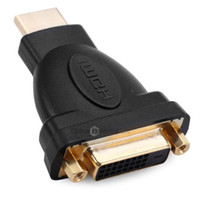 Wholesale Linoya HDMI Male to DVI Female HDMI to DVI Adapter Connector for HDTV PC LCD for XBOX for PS3