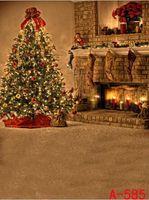 Wholesale 6 FT FT fundo fotografico backdrop cm cm Warm and happy Christmas Eve Lighting Studio Equipment photography backgrounds s