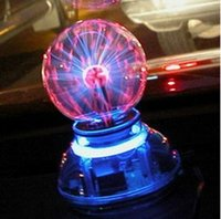 Wholesale New arrival Hot sale Auto supplies Touch plasma ball led decoration lamp Magic voice activated induction ball lamp