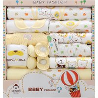 Wholesale 18PCS Gift Set New Style Baby Cotton Clothing Set Newborn Hot Sales Gift Infant Cute Clothes