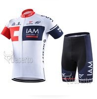 bib model - Pro Team IAM Cycling New Model IAm cycling Clothing Short Sleeve Jersey and Cycling Bib Shorts Set Lycra Breathable Bike Clothes