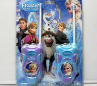 Wholesale Kids gifts Frozen Walkie Talkies Frozen Intercorn Children Interphone Children Gift Children frozen toys Interphone set