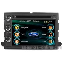 car radio cd player - OEM for Ford F F F F In dash GPS Navigation Radio AV Receiver SD USB CD car DVD Player iPod iPhone ready Bluetooth