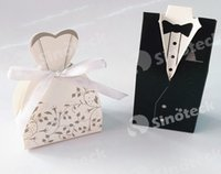 Wholesale 4 Style For Choose Bride and Groom Candy Boxes Wedding Favors with Flower Pattern Favor Holders Wedding Gift Box Party Supply Free DHL