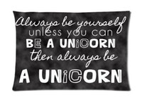 best hospital beds - bedding set sofa x75cm throw pillow case Funny Always Be Yourself Unless You Can Be a Unicorn Best Cotton Pillow Cases