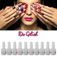 IDO Gelish 223 Colours long nail art tips - Nail Polish Soak Off Gel Polish Gelish Nail Art UV Gel Long Lasting Colors Any Colors Gel Tips