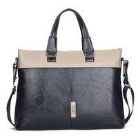 Wholesale Designer Handbags men High grade PU Computer Package cowhide Shoulder Bags laptop Handbag Messenger bags black cm cm cm A2342