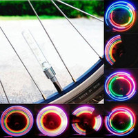 Wholesale Plastic LED Bicycle Wheel Tire Light LED Lamp for Moto Wheel with Modes AG10 Battery