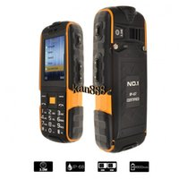 bars bank - Original NO A9 Rugged Waterproof Highlight Flashlight Strong Signal mAh Power Bank Dual SIM Cell Phone