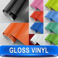 aluminum window channel - Glossy Vinyl Sheet With Air Channels For All Cars Colors Can Be Chose HOT SELLING Size m x m