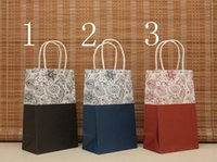Cheap paper bag with plastic li Best paper direct free shippin