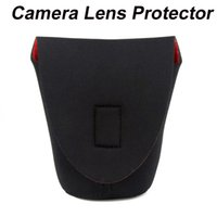 Wholesale Neoprene DSLR Camera Lens Soft Protector Pouch Bag Case S
