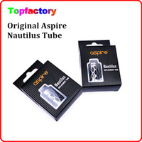 Wholesale E cig Accessories Aspire Nautilus Aspire Atlantis Hollowed Out Sleeve Atlantis Assy Replacement Stainless Tank Tube Genuine Free DHL
