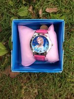 Wholesale 10pcs frozen Watch watches with boxes Christmas gift