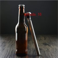 Wholesale 20 BBA5380 Stainless Steel Wine Liquor Chiller Cooling Ice Stick Rod In Bottle Pourer Beer Chiller Stick Chill Alcohol Ice Drinks Wine Cold