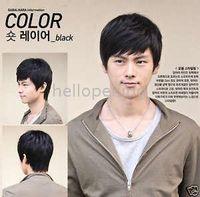 Wholesale New PC Handsome Men s Short Black Wig Style