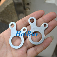 Wholesale 3 Hole EDC Survival Buckle Multi purpose CNC Stainless Outdoor Knotting
