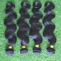 outlet brazilian hair - 4 Bundles g Body Wave Weft A Virgin Brazilian Hair Weave Black Extensions Factory Direct Outlet Hair