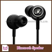 Cheap Marshall MODE EQ Earphone&Headphone With Mic In Ear Headset Universal Fashion HIFI Earphones For Mobile Phone PC Computer