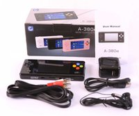 dingoo a320 - New Black Dingoo A380E Handheld Emulator game console A320