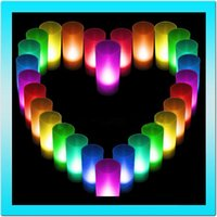 Yes Color Change LED Candles - Hot sale led flameless candle rechargeable color changing W electronic decorate candle light with remote