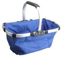 market basket - Portable Collapsible Vegetable Market Tote Basket Folding Shopping Bag Camping