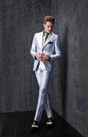 best travel dress - 2015 New Groom Tuxedos Slim Fit Best Man Suits Groomsmen Men s Wedding Dress Business Travel Work Suit Custom Made High Quality