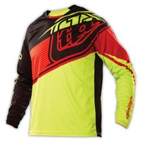 Wholesale 2015 TLD Troy Lee Designs Moto GP Downhill Jersey Speeds Motocross Jersey TLD MX DH Offroad Motocycle Jersey Green MC
