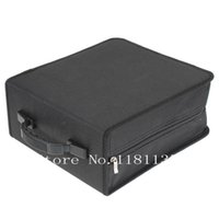 cd carrying case - New Portable Capacity CD DVD Media Storage Holder Carry Bag Case Durable Black
