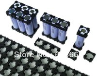 Wholesale battery bracket Used for cylindrical lithium ion cells packing Flame retardant plastic cell holder