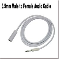 audio jacks and plugs - 3FT mm Male to Male Female M F Plug Jack AUX Headphone Connector Audio Extension Cable for Computer Phones and MP3