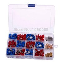 Wholesale Hot Sale New Assorted Insulated Electrical Wire Connector Kit Crimp Terminals Set