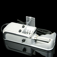 electric cigarette rolling machine - Easy Roller Electric Cigarette Tobacco Injector Machine RYO Roll Your Own
