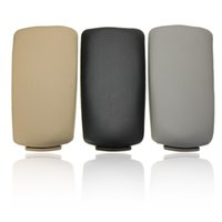Wholesale New PLASTIC CENTER CONSOLE ARMREST COVER FOR AUDI A4 B6 B7 BLACK GREY BEIGE