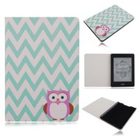 Wholesale Kindle Case Elonbo Chevron and Owl quot Protective Leather Case Cover for Amazon Kindle Paperwhite Kindle Paperwhite