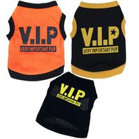 Wholesale VIP Style Cotton Dog Shirt XS L Black Dog Clothes Dog Shirt Dog dress pet apparel